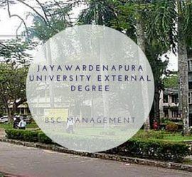 Jayawardenapura University External Degree