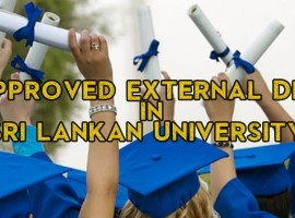 UGC Approved External Degrees