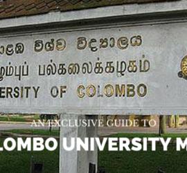 Colombo University MBA