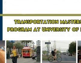 Transportation Masters Degree