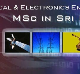 Engineering MSc in Sri Lanka