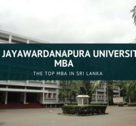 MBA in Sri Lanka
