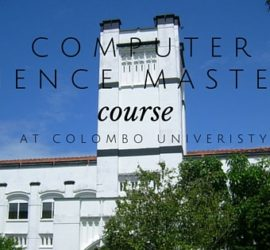 Computer Science Masters Course