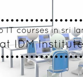 IT courses in sri lanka