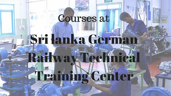 Sri lanka German Railway Technical Training Center