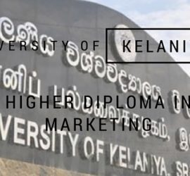 University of Keleniya Higher Diploma