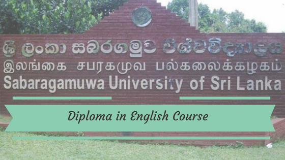 Sabaragamuwa University English Course