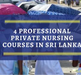 Nursing Courses In Sri Lanka