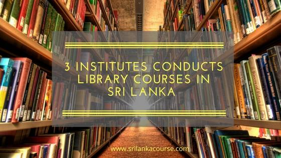 library courses in sri lanka