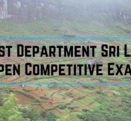 Forest Department Sri Lanka