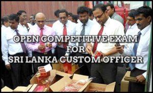 Sri Lanka Custom Officer