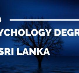 sychology Degree in Sri Lanka