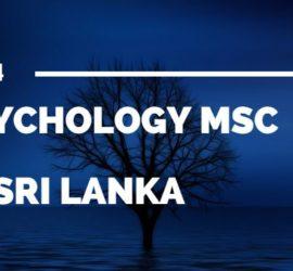 Psychology Studies in Sri Lanka
