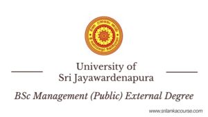 jayawardenapura External Degree